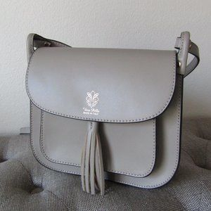 Vera Pelle (Leather) Made in Italy Crossbo…